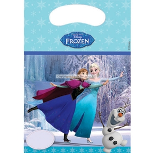 Disney Frozen ice skating loot party bags pack of 6