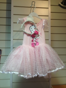 Hello Kitty Pink Ballerina Princess Costume
