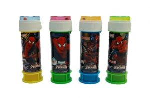 Marvel Super Hero Spiderman mini party bubbles pack of 4