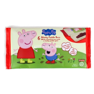 Peppa pig party loot bag filler pack of 6 chocolate bars