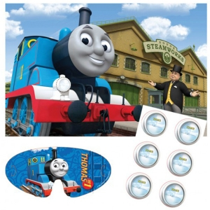 Thomas the Tank Pin the Light on Thomas Party Game