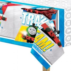 Thomas The Tank Engine party large tablecloth  1.4m x 2.6m