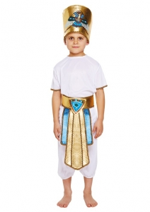 Egyptian Boy Costume 4 piece