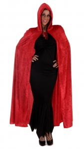 Halloween Red Velvet Cape
