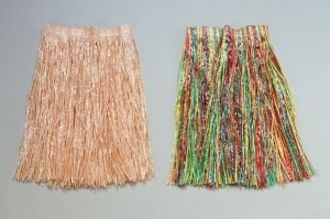 Adult Grass Hawaiian Hula Skirt Gold