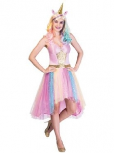 Ladies Mystic Unicorn Fancy Dress Costume