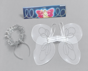 Angel Fairy Wings and Halo Set