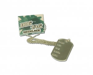 Army Dog Tag Necklace