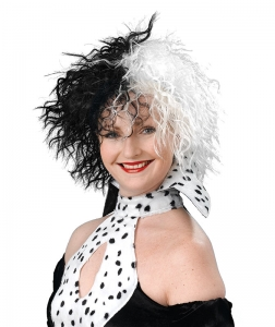 Black & White Cruella Wig