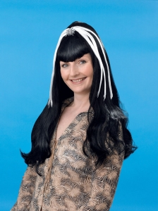 Black & White Spider Wig