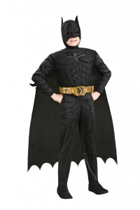 Boys Batman Muscle Chest Costume