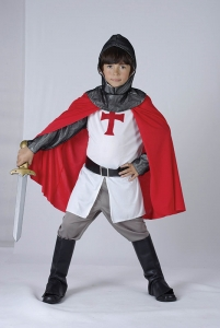 Boys St Georges Knight Costume