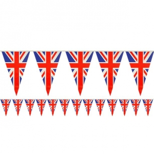 Union Jack bunting decorationg accessory 7m