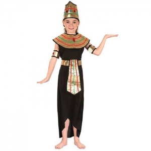 Girls Egyptian Queen of the Nile Fancy Dress Costume