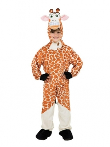 Childrens Madagascar Melman Fancy Dress Giraffe Book Week Costume