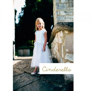 Girls Party Dress Disney Boutique Cinderella White Sequin And Glitter Star Dress