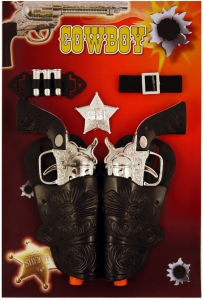 Cowboy 7 Piece Pistol Set