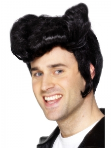 Danny Greaser Wig with sideburns
