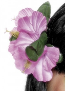 Deluxe Hawaiian Flower Hairclip