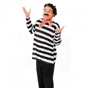 French Man Fancy Dress Disguise Set