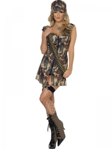 Fever Army Girl Costume