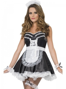 French Maid Set, Black