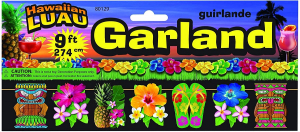 Hawaiian Luau Printed Garland Party decorating Accessory