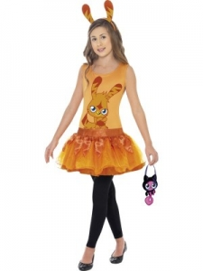 Girls Moshi Monster Tutu Dress with Bag - Katsuma