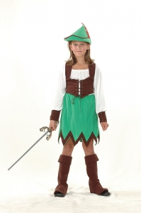 Girls Robin Hood Costume