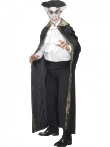 Gothic Count Cape and Cravat
