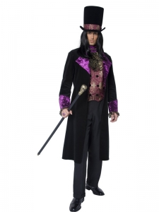 Gothic Count Fancy Dress Costume