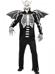 Gothic Manor Demon Skeleton Costume