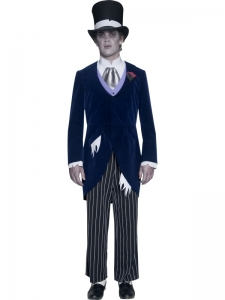 Gothic Manor Ghost Groom Costume