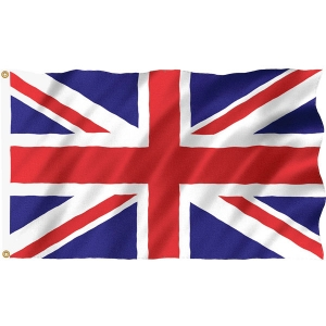 Union Jack Great Britain Cloth Flag Accessory