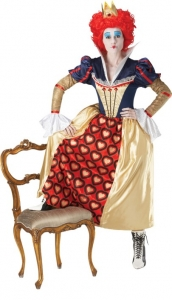 Ladies Disney Red Queen Costume