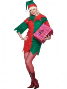 Ladies Elf Costume