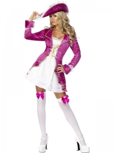 Ladies Fever Pirate Treasure Costume