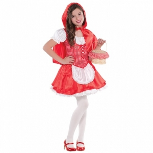 Children Lil Red Riding Hood Costume