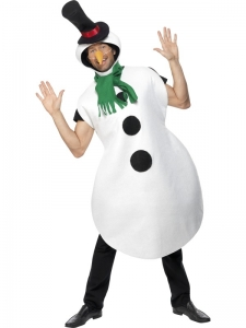 Mr Snowman Costume with carrot nose