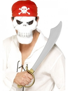 Pirate set - Mask with scarf and sword