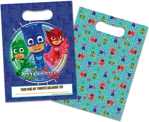 PJ Masks Party loot bags  8 pack