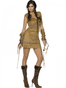 Pocahontas Fancy Dress Costume
