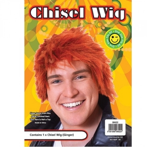 Ginger Boy Band Wig Short Style