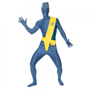 Second Skin Lycra Bodysuit Costume thunder birds