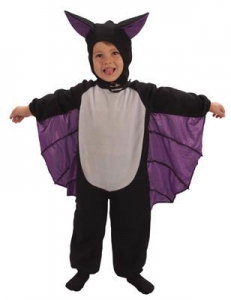 Toddler Bat Suit Fancy Dress Costume