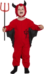 Boys / Girls Toddler Fancy Dress Costume - Halloween Devil