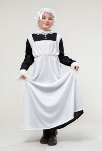 Victorian Maid Fancy Dress Costume