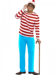 Where's Wally Fancy Dress Costume