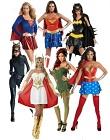 Superhero And Villain Ladies