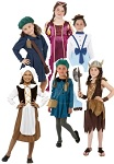 Girls Historical Fancy Dress